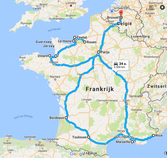 Roadtrip France